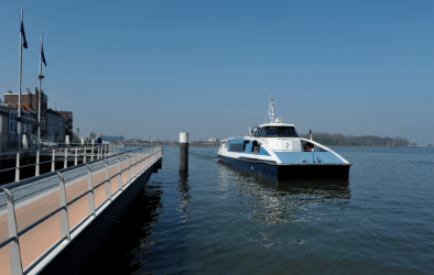 Waterbus vaart langer door tijdens Big Rivers