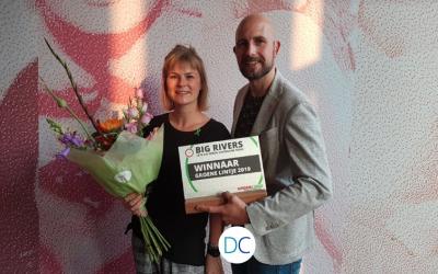 Let's Go Green-team beloond met Groen Lintje.